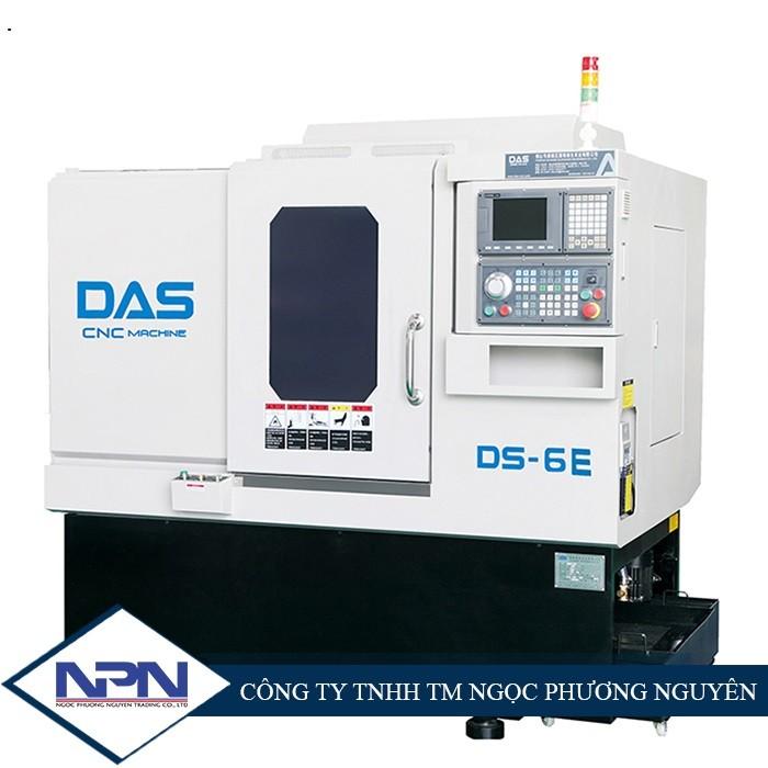 Máy tiện CNC Đài Loan bàn nghiêng thay dao 0.3 giây 4 trục DAS DS-5E/6E