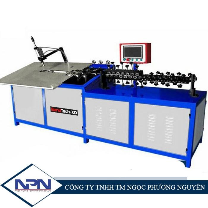 Máy uốn tạo hình dây thép BendTech-XD GT-WB-100-4A (4~10mm)