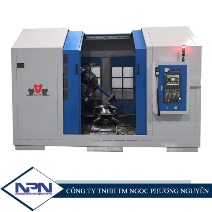 Máy đánh bóng sản phẩm dạng đĩa CNC ADV-608