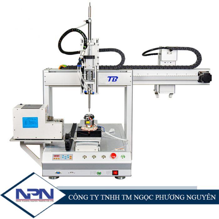Máy bắn vít tự động CNC TB-PE16 (Cánh tay robot tự động dỡ phôi)