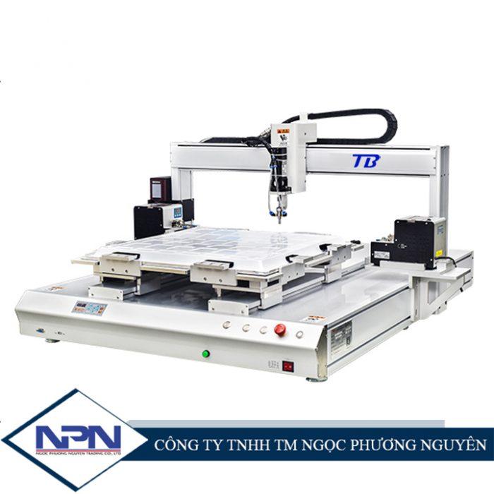 Máy bắn vít tự động CNC TB-PE09 (2 máy cấp vít đĩa xoay)