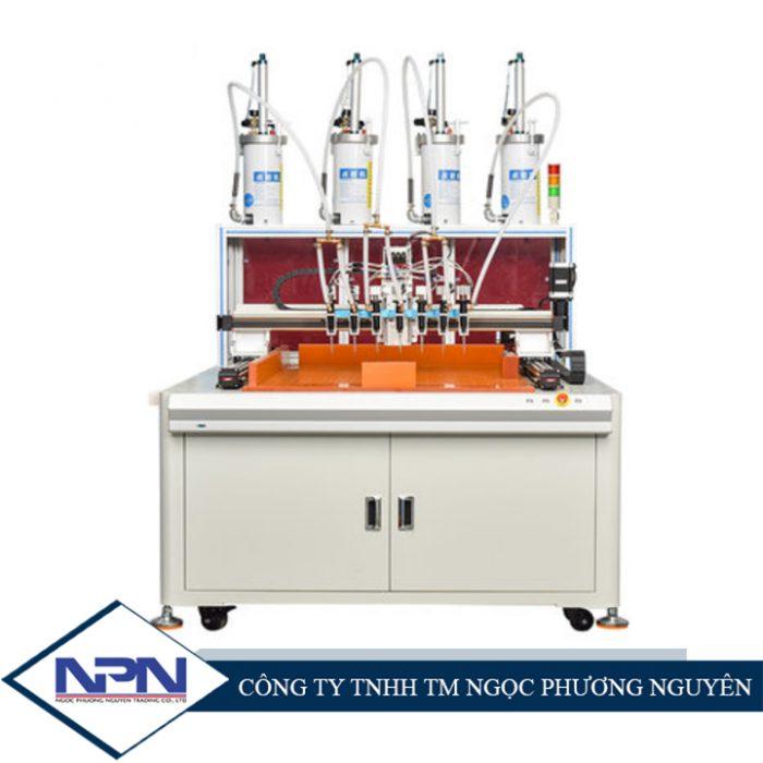 Máy bơm chiết keo silicone, keo nhiệt tự động TZ-DT